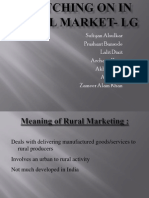 LG Rural Marketing Sufiyan