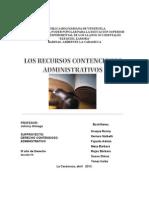 Trabajo de Contencioso Administrativo