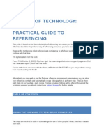 Practical Guide to Referencing Faculty of Technology