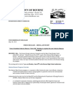 Solarize Bourne Press Release 5-31
