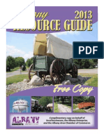 2013 Albany Resource Guide