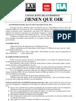 Junta de Accionistas -31 mayo.