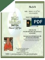 2013 Tournament Flyer