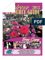 2013 Melrose Resource Guides