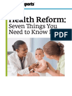 The Affordable Care Act-You and Your Family