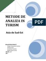 Asia de Sud Est-analiza turistica