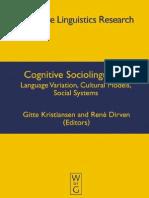 Cognitive sociolinguistics.pdf