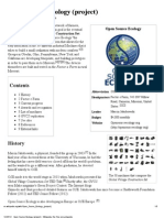 Open Source Ecology (Project) - Wikipedia, The Free Encyclopedia