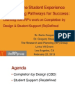 Exploring the Student Experience and Building Pathways for Success