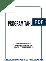 Program Tahunan Bahasa Indonesia (SD)
