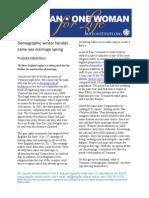 Demographic Winter Heralds Same-sex Spring