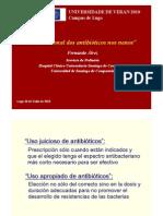 Uso Racional Antibioticos