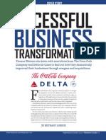 Towers Watson Successful Business Transformation Coke Delta