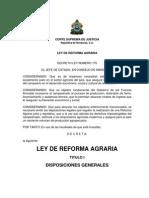 Ley de Reforma Agraria