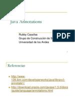 Importante Presentación Sobre Anotaciones en Java