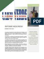 Informe Cabo Verde-Enero 2013