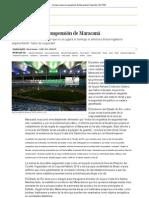 Un juez revoca la suspensión de Maracaná _ Deportes _ EL PAÍS