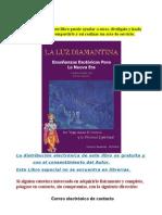 LIBRO -LA LUZ DIAMANTINA-Curso Esotérico..doc