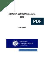 Volumen II Memoria 2011 Publicada