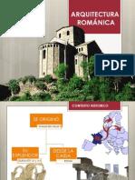Arquitectura Romanica - Religiosa. Grupo 07