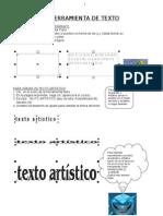 Texto Artistico y Parrafo