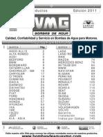 VMG Catalogo Bombas de Agua 150910