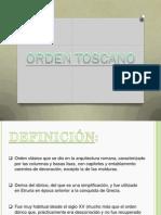 Orden Toscano (Exposicion)