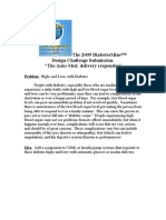 2009 DiabetesMine Design Challange Submission.docFINAL