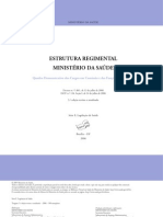 Estrutura Regimental Ministerio Saude