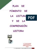 PLAN de Fomento de La Lectura