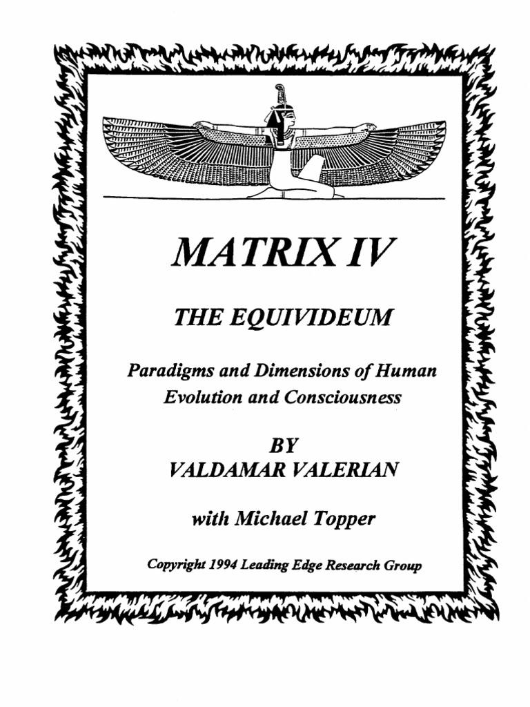 043989b24ae Valdamar Valerian - Matrix IV