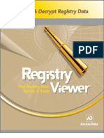 Registry Viewer User Guide