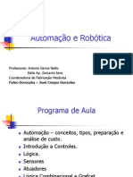 Aula 1 - Introdução a Automação e Robótica