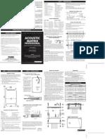 Fishman Acoustic Matrix Professional Manual