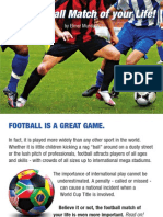 The Football Match of Your Life - Gospel Tract