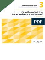 DESC+A - 03 - Por qué la necesidad de un Plan Nacional Contra la Discriminación