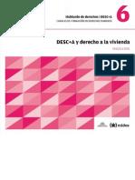 DESC+A - 06 - DESC+A y Derecho a La Vivienda