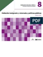 DESC+A - 08 - Población inmigrante y retornada y políticas públicas