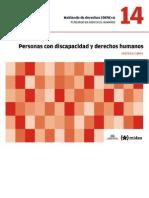DESC+A - 14 - Personas Con Discapacidad y Derechos Humanos