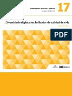 DESC+A - 17 - Diversidad Religiosa. Un Indicador de Calidad de Vida