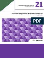 DESC+A - 21 - Focalización y matriz de protección social