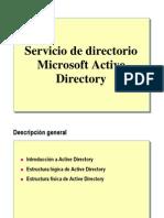Servicio de Directorio Active Directory