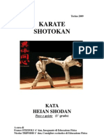 Karate Heian Shodan