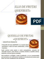 Quesillo de Frutas