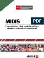 Documento MIDIS Castellano