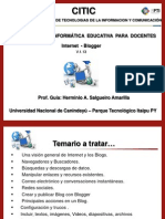 Internet y Blog D1