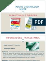 Paracetamol e Dipirona