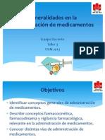 Generalidades Medicamentos