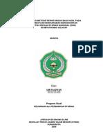 Sm4009 Analisis Metode Perhitungan Bagi Hasil Pada