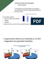 Generacion Electrica en Colombia